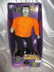 Gemmy Animated Hip Swinging Monster Mash Frankenstein Halloween Figure NIB-0