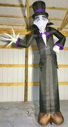 Gemmy Prototype Halloween Inflatable Shortcircuit Mr Creepy
