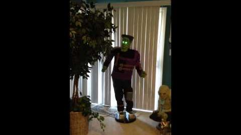 Gemmy life size singing and dancing Frankenstein
