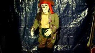29382 Gemmy 5ft Animated Skeleton - Song 2