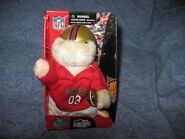 NFL SF 49ERS HAMSTER GEMMY DANCING CHEERING SINGING ELECTRONIC IN ORIG BOX