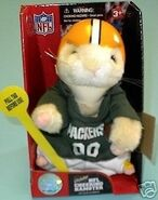 NFL Cheering Hamster-Green Bay Packers