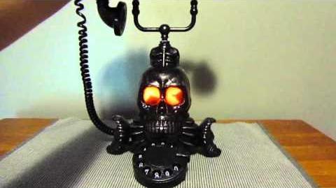 Gemmy Spooky Skull Phone Demo