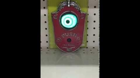 Gemmy Halloween Animated Eyeball Doorbell