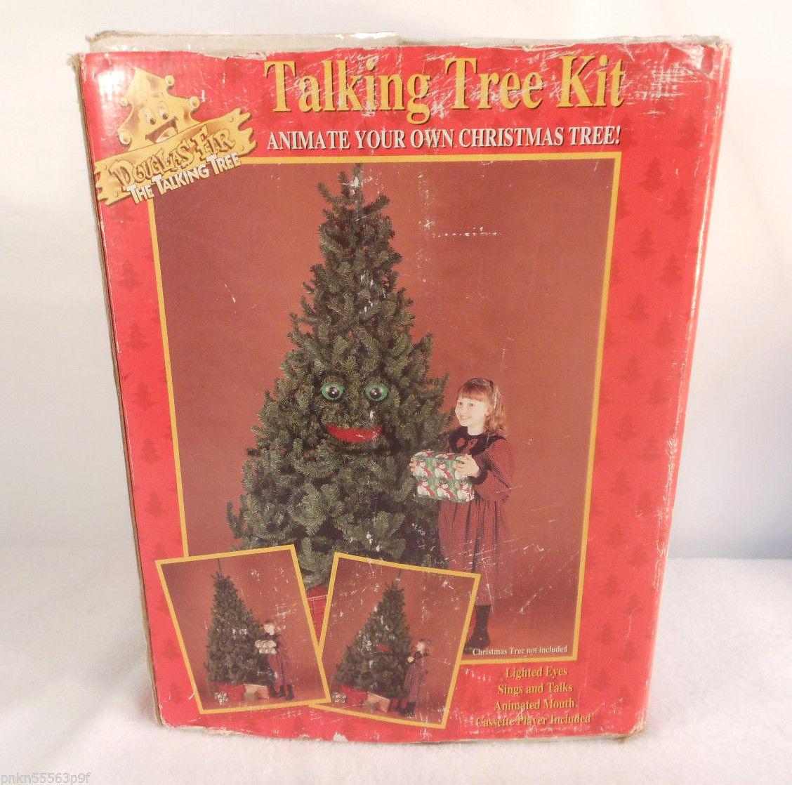 Gemmy 1996 douglas fir animated tree kit