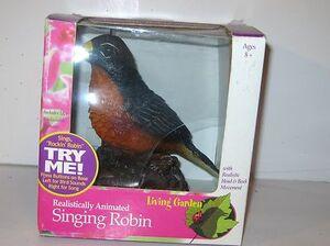 Gemmy singing robin 2
