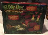 Totally Ghoul Glow Ups Lighted Yard Decor - Crashed Witch - Halloween