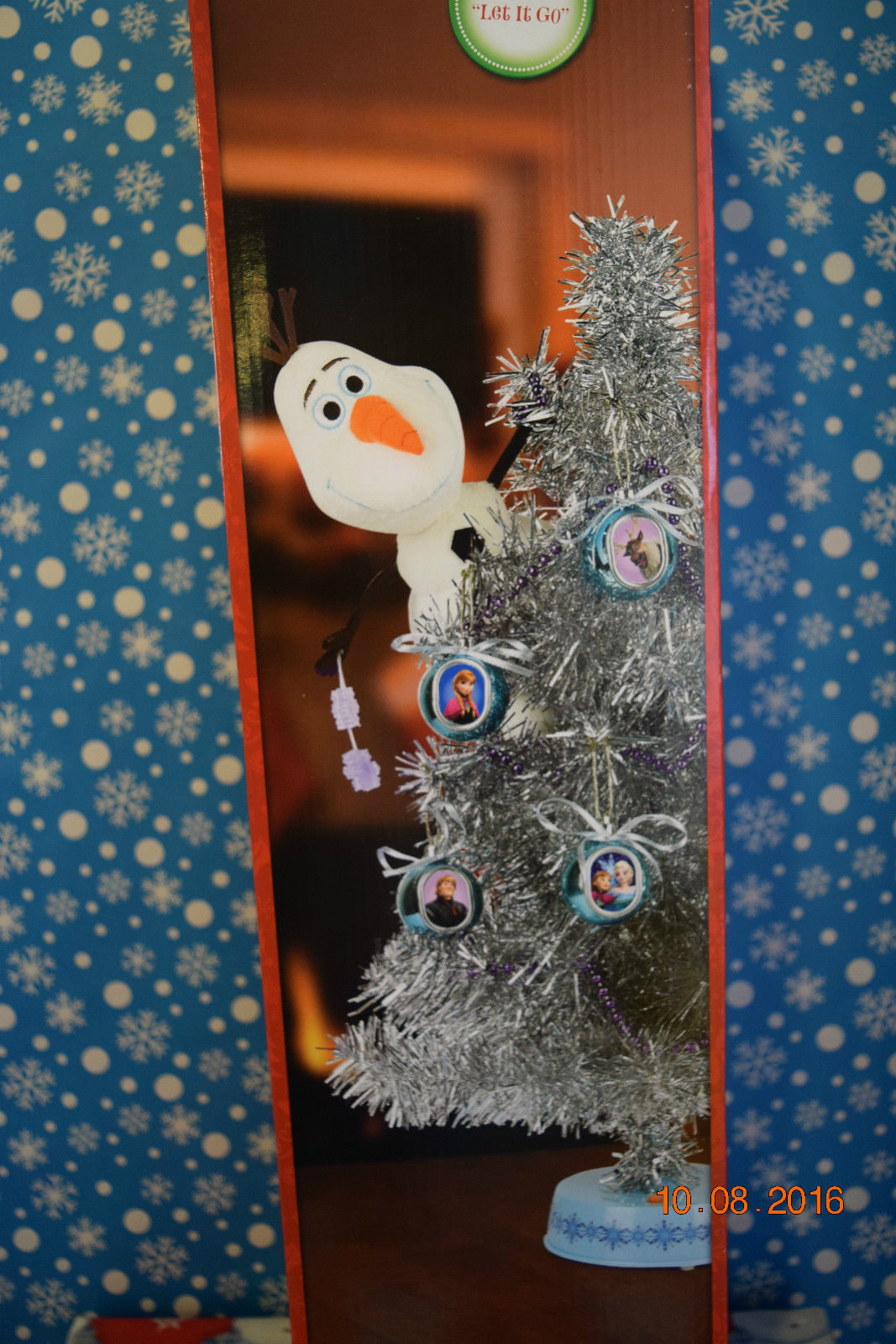 Image - New Gemmy Christmas Frozen Olaf Lighted Animated Motion Tree ...