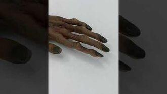 1996 Gemmy Animated Haunting Hand Halloween Factory