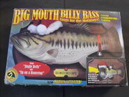 Big mouth billy bass sings for the holidays box