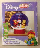DISNEY WINNIE THE POOH Snow Globe GEMMY Airblown Inflatable in Box