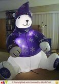 Gemmy inflatable polar bear