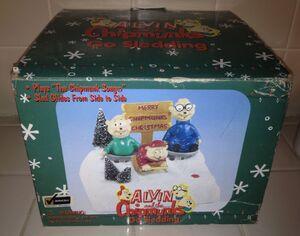 Alvin and the chipmunks go sledding box