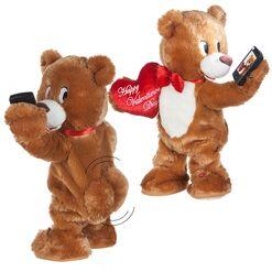 Dancing Valentine's Selfie Bear