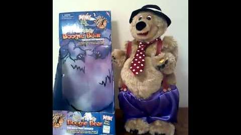 Gemmy animated Big Band Big Belly Boogie Bear (RARE)
