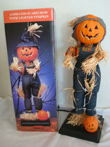 Animated Electric Scarecrow