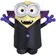 Gemmy 2016 inflatable-Gone batty minion
