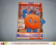 Syracuse university mascot otto the orange plush