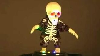 Animated Groovin' Ghoul Skeleton