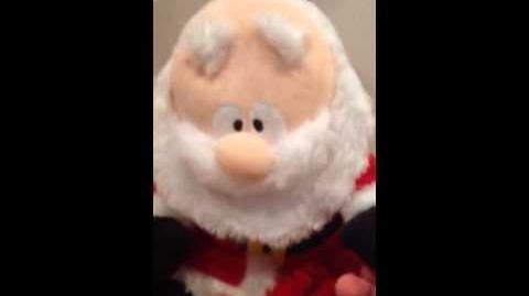 Gemmy Expression of Joy Santa