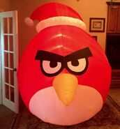 Gemmy Prototype Christmas Angry Birds Inflatable Airblown