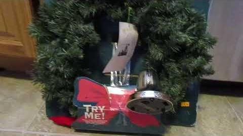 Gemmy animated Musical Christmas Wreath (RARE!)