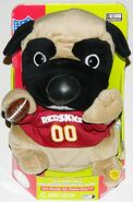 NFL PARTY PUG REDSKINS ''MOVE IT LIKE THIS, SHAKE IT LIKE THAT'' SONG NEW NIB