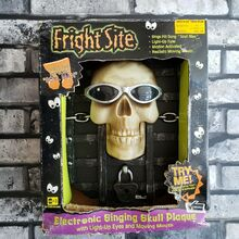 TRU Fright Site Soul man Skeleton Plaque
