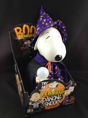 1997 animated snoopy wizard peanuts