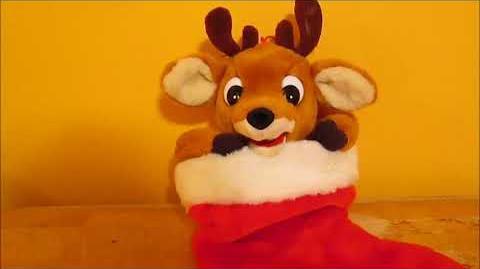 Gemmy - Animated Reindeer Stocking