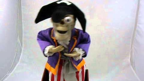 Gemmy Be-Holders Pirate Skeleton