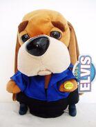 Plush Elvis Presley Blue Suede Shoes Animated Singing Hound Dog Toy