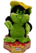Gemmy Animated Mambo The Movin' Monkey Spins & Dances Musical Ape Plush Pal