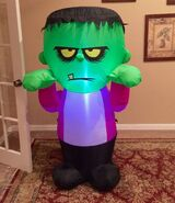 Gemmy Prototype Halloween Monster Inflatable Airblown