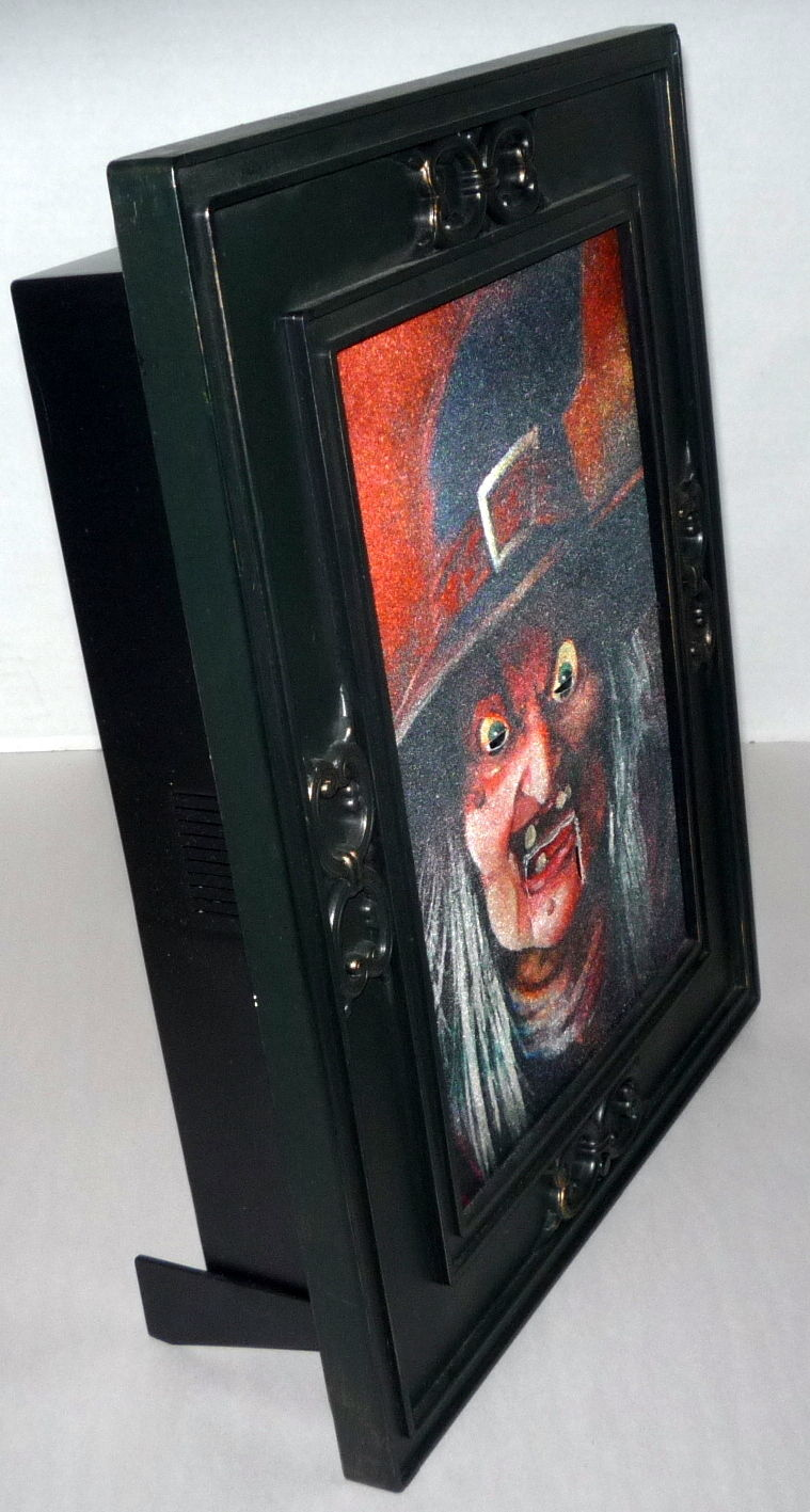 Image Rare Gemmy Wicked Witch Talking Animated 3 D Halloween 15