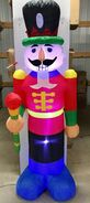 6ft Gemmy Airblown Inflatable Christmas Nutcracker Prototype