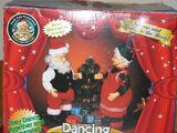 Dancing Claus Couple
