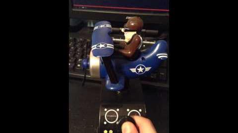 Gemmy Plane Blasting Control (BLUE VERSION!)