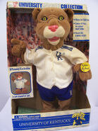 Gemmy kentucky mascot college collectable