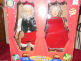 Dancing Claus Couple (Wireless version)
