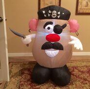 Gemmy Prototype Halloween Potato Head Inflatable Airblown