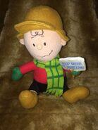 Peanuts Gang Charlie Brown 2010 10'' Musical Shaking Plush Gemmy Industries 10''