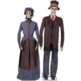 Lifesize Skeleton Couple