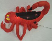 Gemmy inflatable red scuirpion