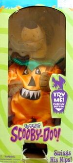 15'' Groovin Scooby Doo Halloween Pumpkin Plush Figure