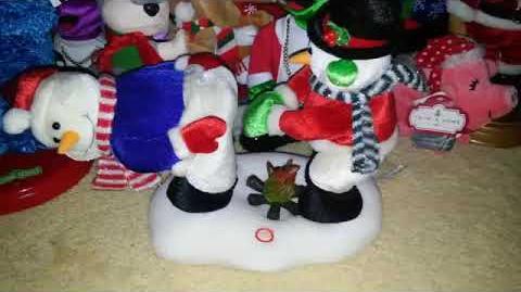 Fire-Warming Snowmen