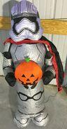 Gemmy Prototype Halloween Inflatable Star Wars Captain Phasma