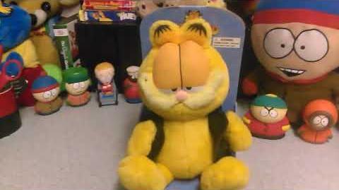 GEMMY dancing Garfield rare