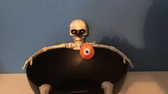 My New 2019 Skeleton Candy Bowl