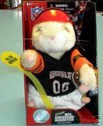 NFL Cheering Hamster-Cincinnati Bengals